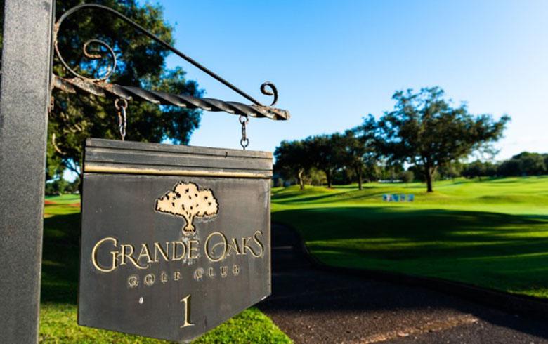 Grand Oaks Sign