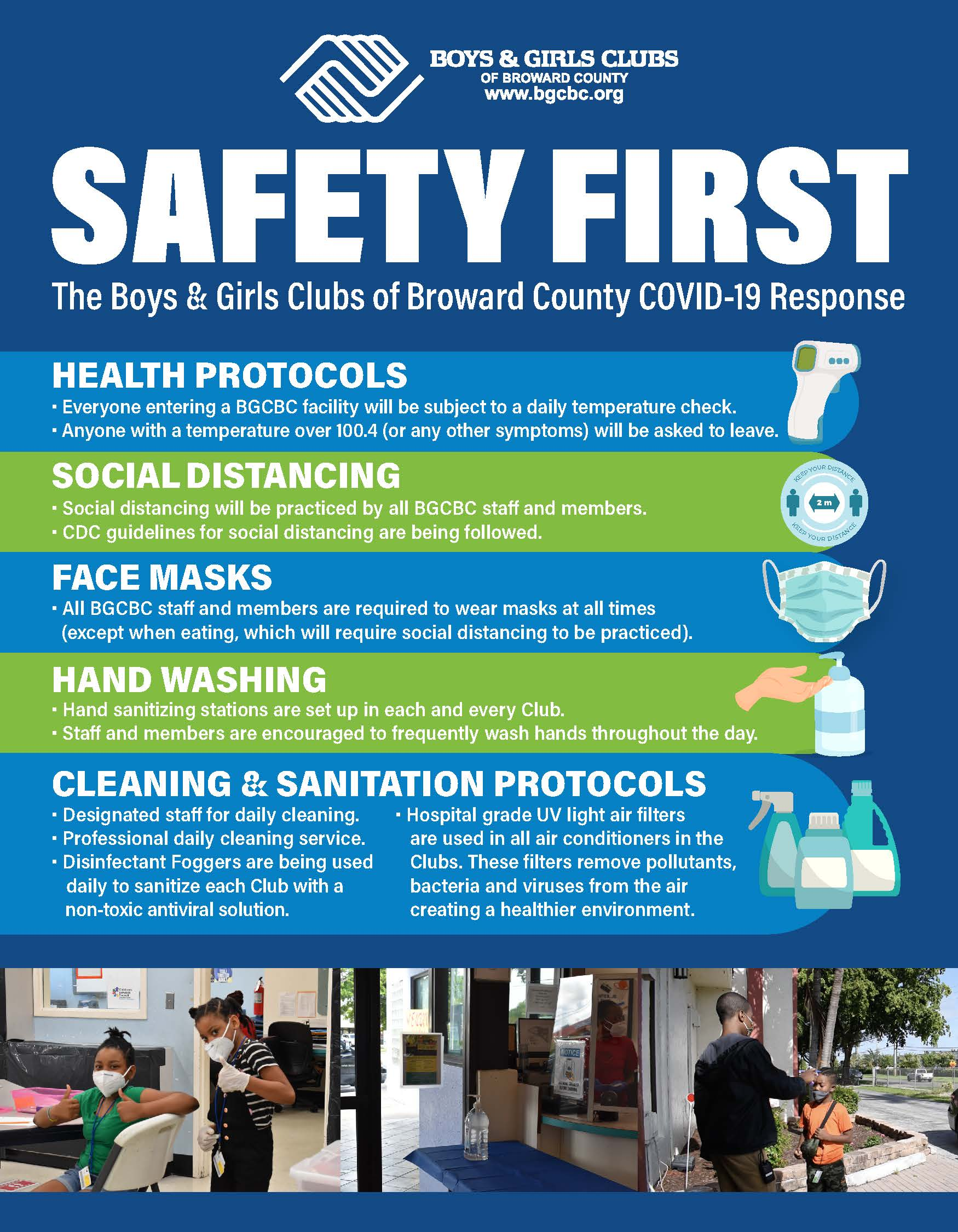 Safety First - Covid -19 Response