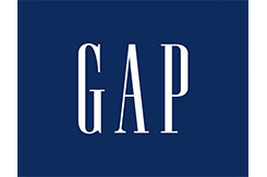 Gap Logo Blue