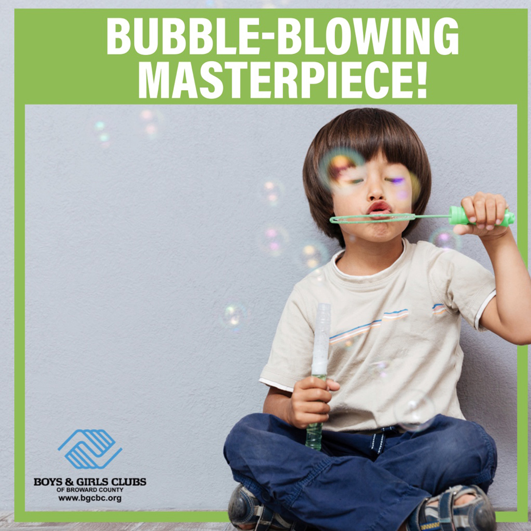 Bubble-Blowing Masterpiece