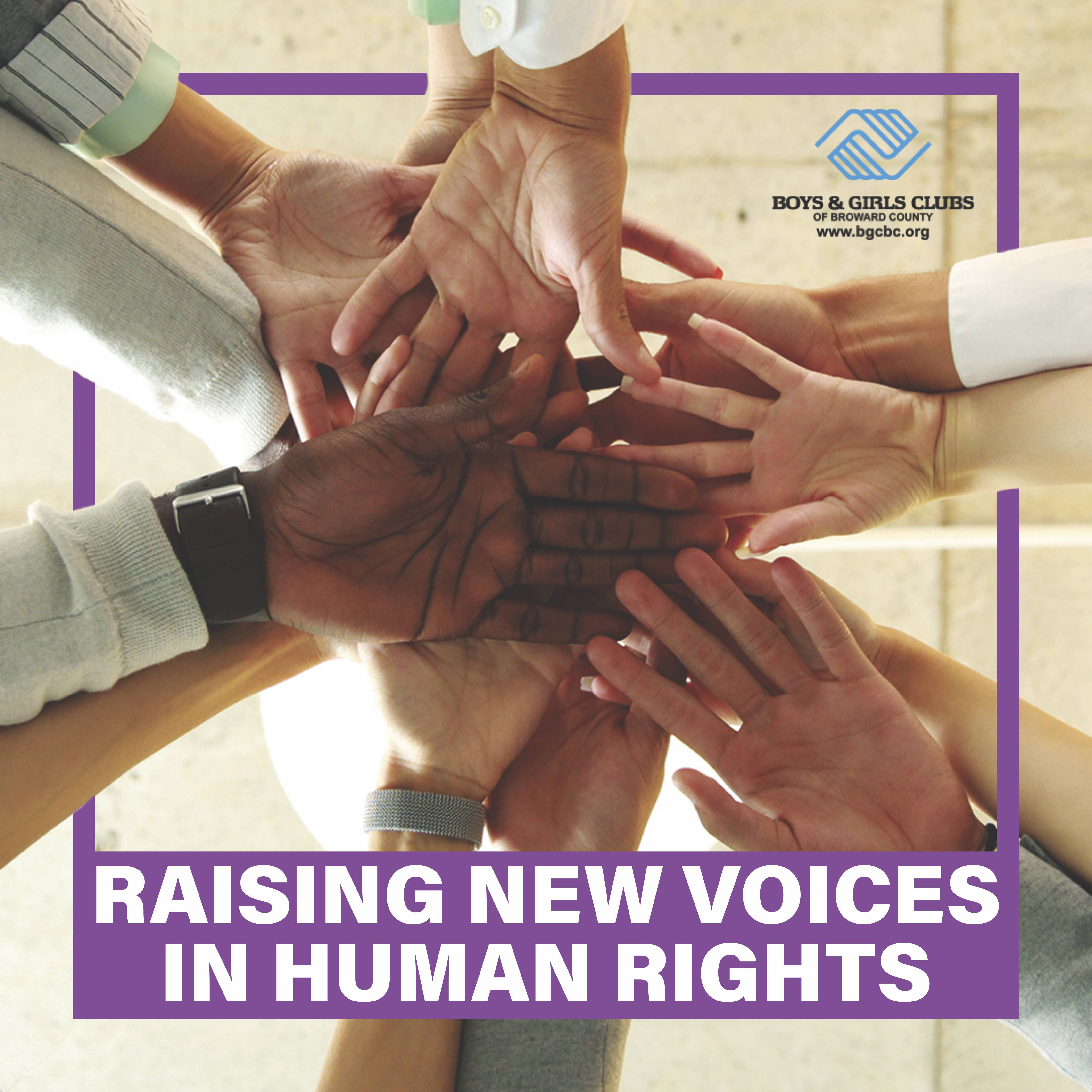 Raising voice in Human Rights