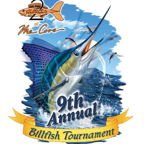 Event Logo for the 9TH ANNUAL TWO GEORGES AT THE COVE BILLFISH TOURNAMENT