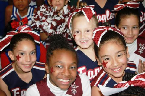 BGCBC Cheerleaders Bring the Spirit!