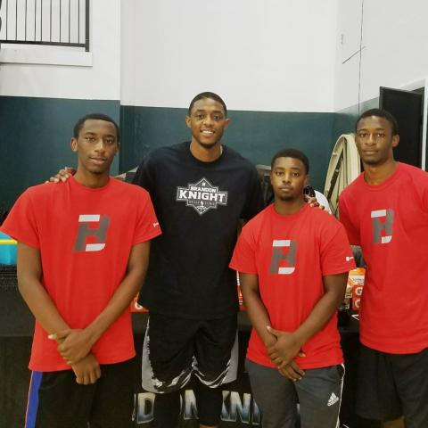 Brandon Knight Skills Clinic 2017