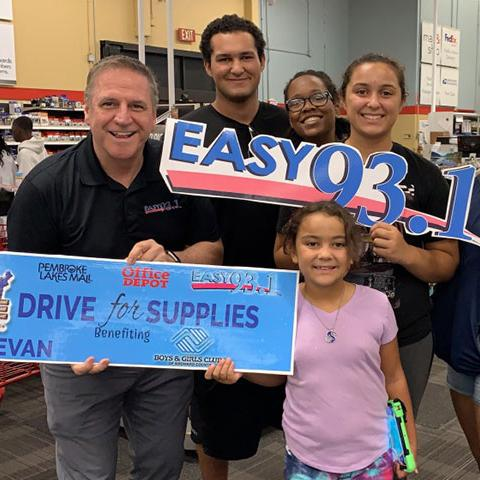 Drive for Supplies with Easy 93.1