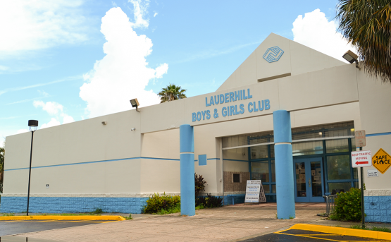 Lauderhill Club Front Entrance from the Right